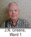 James Greene, Ward 1, Mt. Vernon, Missouri